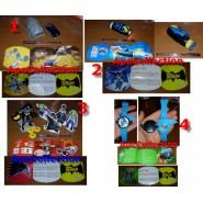 BATMAN Rare SET 4 MAXI Prize Surprise Kinder Ferrero FIGURES and GAMES Mint