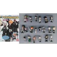 RARE Complete Set 20 Characters Figures BLEACH MASCOTS with DANGLER  Gashapon BANDAI Japan