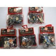 LUPIN Third III Set 5 KEYHOLDER Caricatures Big Faces Danglers Keychain 3cm BANPRESTO Fujiko Zenigata