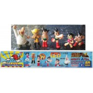 Rare SET 6 Figures ASTROBOY Mighty Atom PART 2 Gashapon JAPAN Original YUJIN