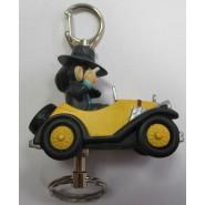 LUPIN Third III KEYCHAIN Keyholder Double Car Yellow 5cm BANPRESTO