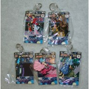 LUPIN Third III Set 5 KEYHOLDER Puppets Keychain 5cm BANPRESTO Fujiko Zenigata