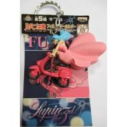 LUPIN Third III KEYHOLDER Of Fujiko Keychain 5cm BANPRESTO