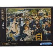 Puzzle MUSEUM COLLECTION Renoir Dance In The Moulin Da La Galette 1000 Pieces 69x50cm Original Clementoni