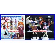 Rare SET 5 Figures MAGISTER NEGI  Manga Anime JAPAN MOVIC Original Gashapon