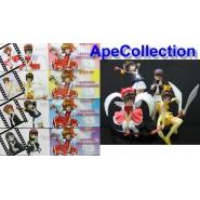 Rare SET 4 Figures SAKURA CARD CAPTOR Special SWEET COLLECTION Manga Anime JAPAN Original Gashapon