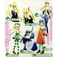 Rare SET 4 Figures CLOVER HEARTS Manga Anime JAPAN Original Gashapon