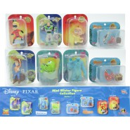 SET 8 Mini Figures DISNEY PIXAR Mini Blisters NEMO TOY STORY INCREDIBLES MONSTERS