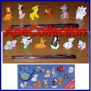 RARO Complete Set 12 Mini Figures 3cm ANIMAL FRIENDS Original DISNEY Premium Prizes ZAINI