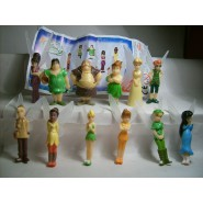 RARO Set 10 Mini Figures 3cm PETER PAN ADVENTURES Disney Tinkerbell Original Premium Prizes ZAINI