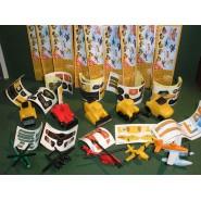 RARO Set 10 Mini Figures 3cm PLANES Fire & Rescue Original DISNEY Premium Prizes ZAINI