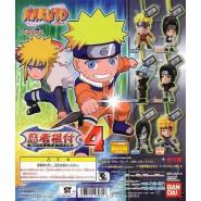 Set 8 Figures NARUTO DANGLERS PART 4 Gashapon BANDAI Japan