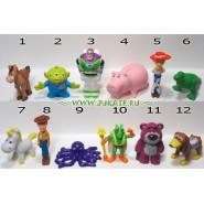 RARO Set 11 Mini Figures 3cm Toy Story Original DISNEY Premium Prizes ZAINI