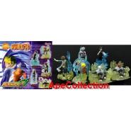 RARE Set 6 FIGURES 8cm NARUTO PART 5 Bandai GASHAPON Japan