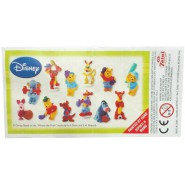 RARO Set 12 Mini Figures 3cm WINNIE THE POOH Sports Disney Original Premium Prizes ZAINI