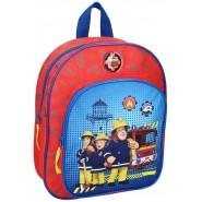 School Backpack FIREMAN SAM Red Boy 31x21cm ORIGINAL Vadobag
