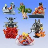 RARE Complete SET 6 Figure DRAGONBALL Z IMAGINATION Diorama PART 1 Bandai JAPAN Gashapon
