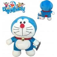 Plush DORAEMON Robot Cat 20cm Normal Smiling Closed Mouth Original TV Cartoon Movie