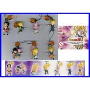 Set 7 Figures DRAGON BALL SHENRON Danglers Swing GOKU VEGETA MAJIN BU Bandai Gashapon
