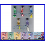 COMPLETE SET 5 Figures SUPER MARIO WII ITEM DANGLERS Tomy Gashapon