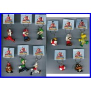 SET 11 Figures SUPER MARIO OLYMPICS With KEYRING