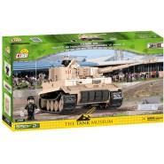 Playset Building Blocks TIGER 131 SD.KFZ. 1812 Panzerkampfwagen VI Ausf. E 2519 Tank Museum