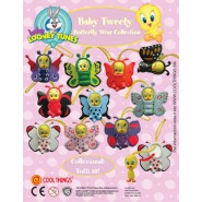 SET 11 Figures TITTI TWEETY TRAVEL WEAR Mini Winnies Style ITALY Gashapon NEW MINT