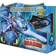 DRAGONS Deluxe Figure TOOTHLESS 51cm GIANT FIGURE BREATHING SPIN MASTER Dragon Trainer