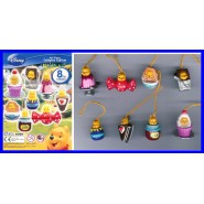 TOMY Set 8 Figure WINNIE POOH DELIGHTS Edition RARE Mini Winnies DANGLERS !!