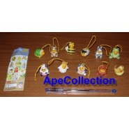 TOMY Set 11 Figures WINNIE POOH PART 2 and 5 Mini Winnies Peek A Pooh Animal Wear