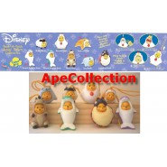 TOMY Set 7 Figures WINNIE POOH ANIMAL WEAR Specual DOLPHINS SERIE Mini Winnies Peek A Pooh