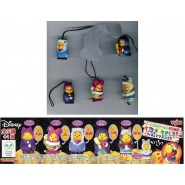 TOMY Set 5 Figures WINNIE POOH HALLOWEEN DRESS with WHITE WOLF Mini Winnies Peek A Pooh TOMY YUJIN JAPAN