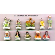 CHICKEN LITTLE PART 2 French Set 12 Cute PORCELAIN Mini Figures RARE Feves
