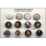 THE LORD OF THE RINGS PART Limited Edition PORTRAITS  French Set 9 Cute PORCELAIN Mini Figures Feves