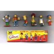 Set 6 MINI Figures THE SIMPSONS PART 2 Original DOLCERIE VENEZIANE Italy Bob Krusty Barney Moe