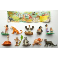JUNGLE BOOK 2 SET 10 MINI Figure Collezione ORIGINALI JouJoux
