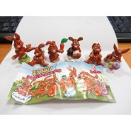 JUNGLE BOOK SET 8 MINI Figure Collezione ORIGINALI Nestle Disney