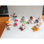 COMPLETE SET 8 FIGURES Mini Figure COOL TEDDIES Bears Polar Collection ORIGINAL JouJoux
