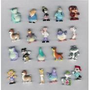 RARE Set 21 Mini Figures 3cm ANIMANIACS Tom Ruegger Original PANINI