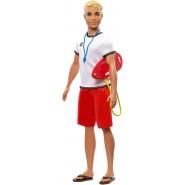 KEN Doll Lifeguard Beach 30cm FXP04 Original Mattel Barbie