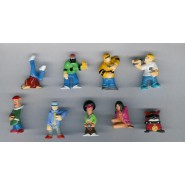 Rare COMPLETE SET 10 Mini Figures RAPPER Original Zaini
