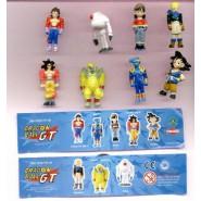 Rare COMPLETE SET 8 Mini Figures DRAGONBALL GT Original Giochi Dolci Preziosi