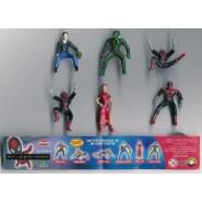 Rare COMPLETE SET 8 Mini Figures SPIDERMAN Original Giochi Dolci Preziosi Spider Man