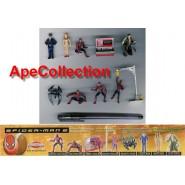 Rare COMPLETE SET 9 Mini Figures SPIDERMAN 2 Original Giochi Dolci Preziosi Spider Man 2