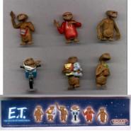 Rare COMPLETE SET 8 Mini Figures E.T. EXTRATERRESTRIAL Original