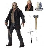 Action FIGURE Ultimate JASON VOORHEES 20cm From FRIDAY THE 13th Original Official NECA 39720