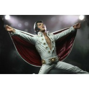 ELVIS PRESLEY LIVE 1972 Action Figure 18cm Original Official NECA 180853