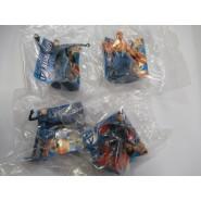 Rare Lot 4 Mini Figures FANTASTIC 4 Original Giochi Dolci Salati Preziosi MARVEL
