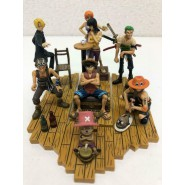 ULTRA RARE SET 8 Figures ONE PIECE Pirates Soul Of Hyper Figuration Part 1In Original Box