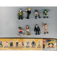 ONEPIECE Complete Set 8 FIGURES Collection 2 Gashapon BANDAI Wanted
